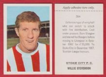 Stoke City Willie Stevenson 254